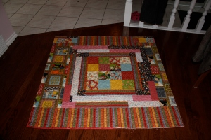 The back of Sophie's Quilt.