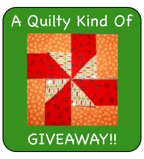 A Giveaway of the Quilty Kind