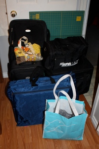 All packed and ready to go Baby!!