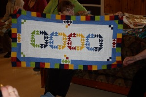 Joan's Mystery Round Robin Quilt