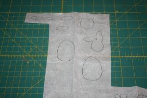 Easter Mini Quilt Applique Shapes