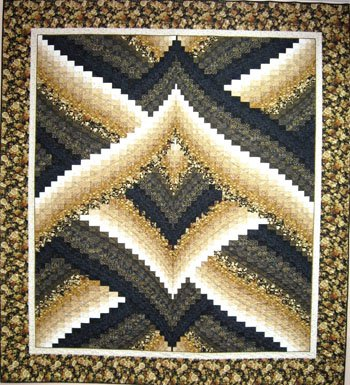 Lightning Strike Bargello Quilt