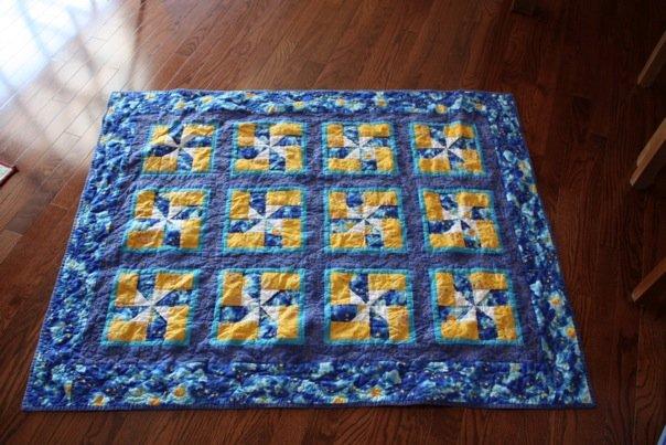 Zig's Pinwheels Quilt