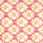 Moda Fresh Cottons Rose Medallions