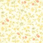 Moda Fresh Cottons Chantilly Cream Floral