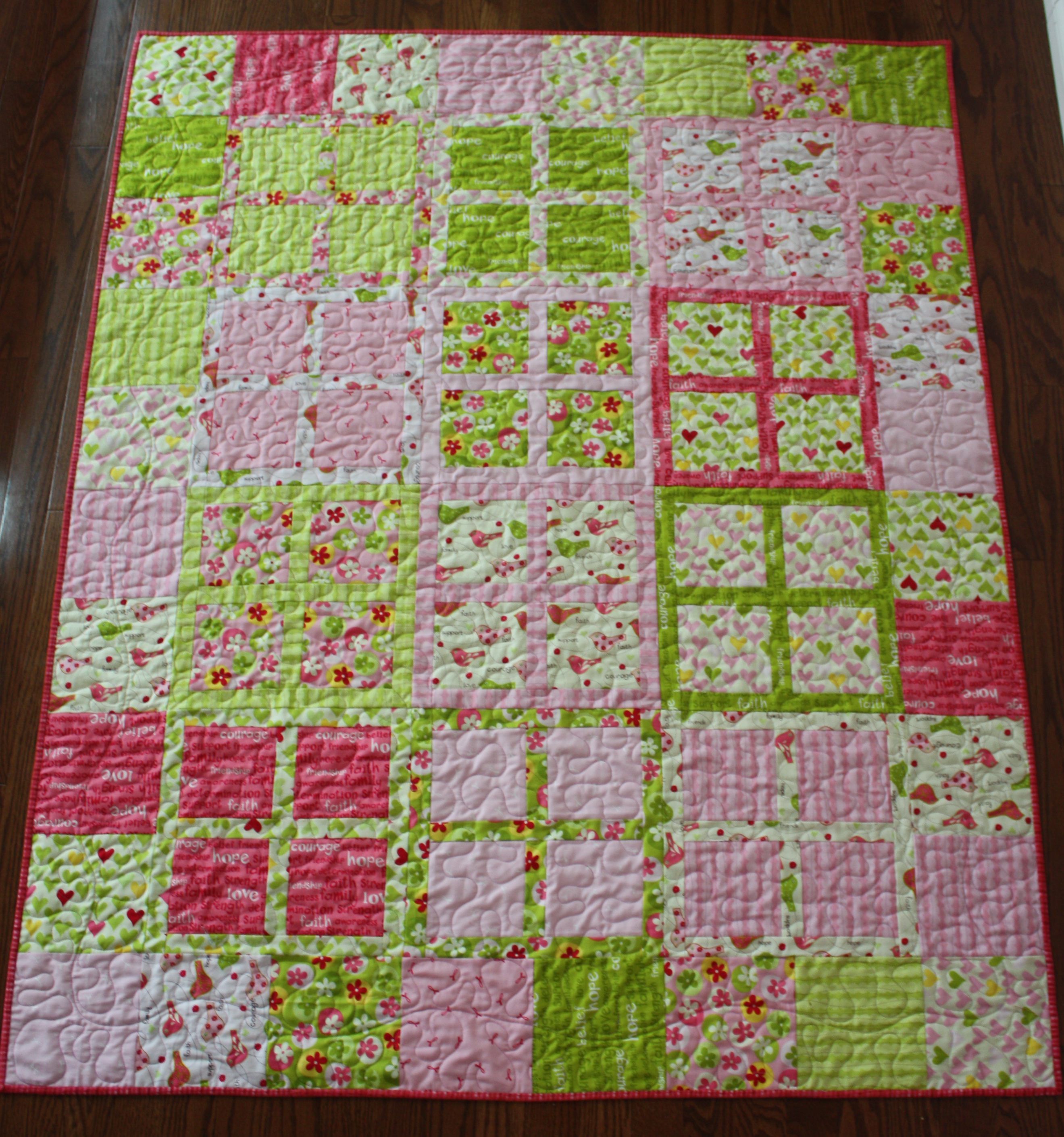 Have just added this beginner quilt pattern to my etsy shop grab